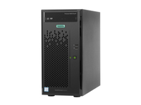 HP ProLiant ML10 Gen9 E3-1225 v5 1P 8GB B110i RAID 2x1TB NHP SATA 300W 3/3/3 serveris