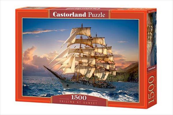 Castor 1500 ELEMENTS Shipping on Twilight puzle, puzzle