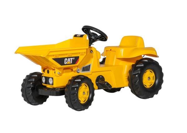 Traktors ar pedāļiem rollyKid Dumper CAT (2.5-5g.)