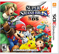 Nintendo 3DS Super Smash Bros spēle