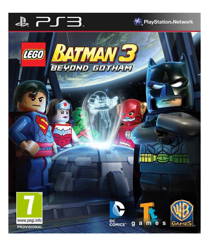 SONY PS3 Lego Batman 3 Beyond Gotham Toy Edition