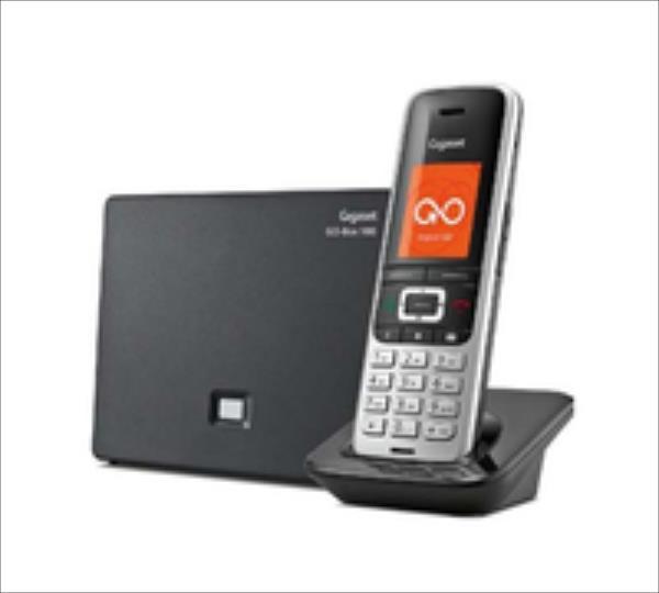 Gigaset S850  A GO  platin /black telefons