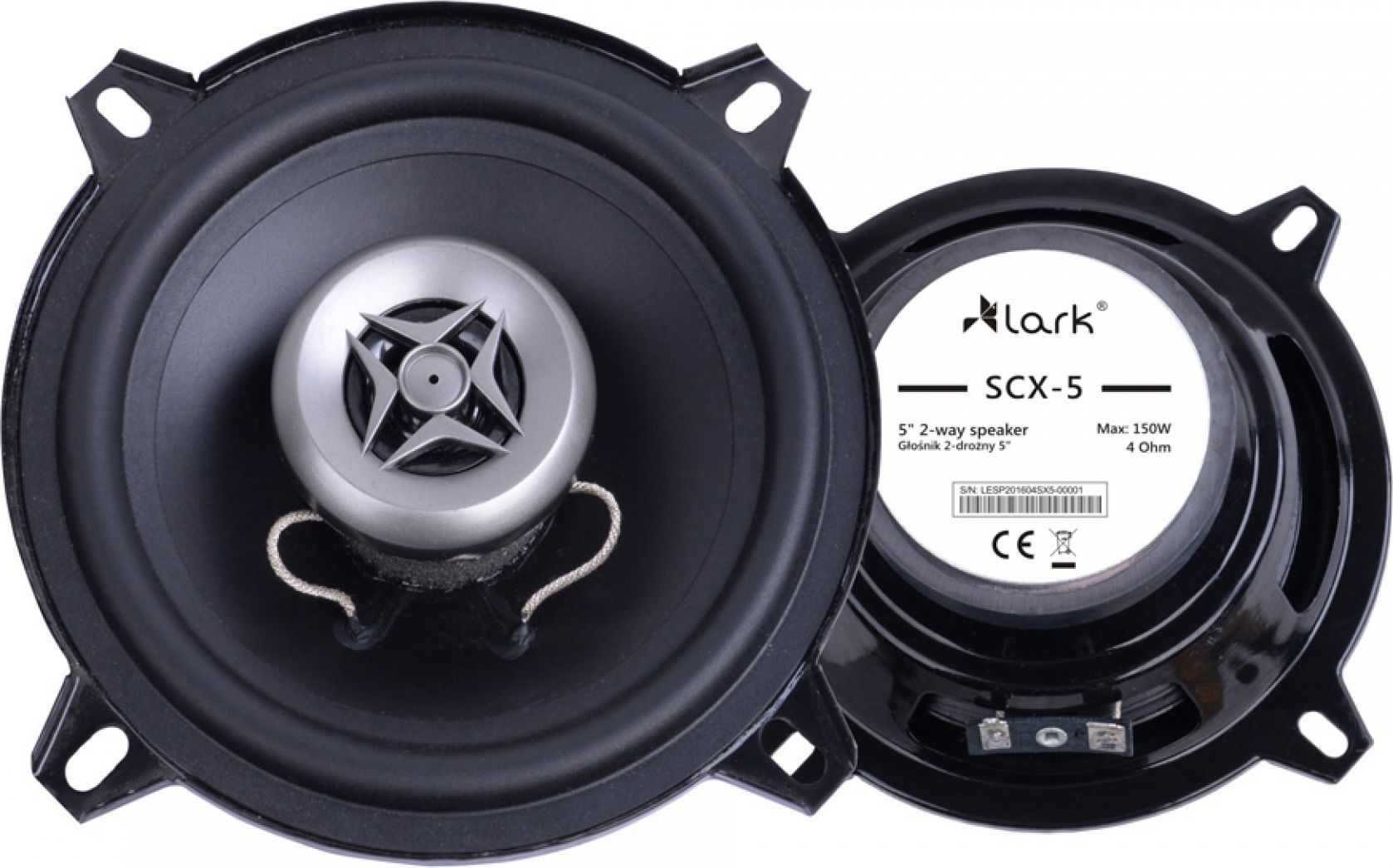 Lark SCX-5 auto skaļruņi
