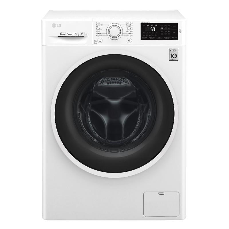 LG F2J6WN0W Front loading, Washing capacity 6.5 kg, 1200 RPM Veļas mašīna