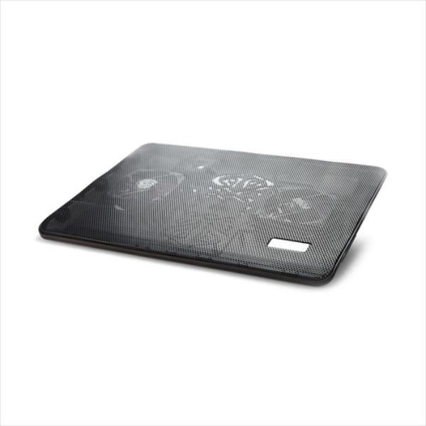Gembird Notebook cooling stand 17'' with two fans, black NBS-2F17-01 portatīvā datora dzesētājs, paliknis
