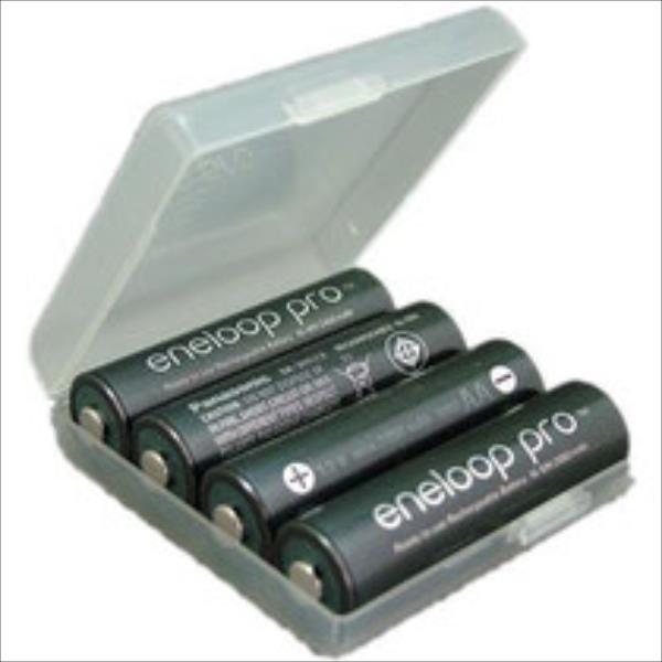 Panasonic Eneloop Pro R6/AA 2500mAh, 4 Pcs, Box Baterija