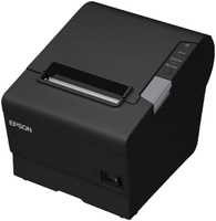 Epson TM-T88V-iHub black Ethernet with Netzteil & Netzkabel uzlīmju printeris