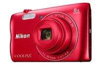 Nikon COOLPIX A300 czerwony Digitālā kamera
