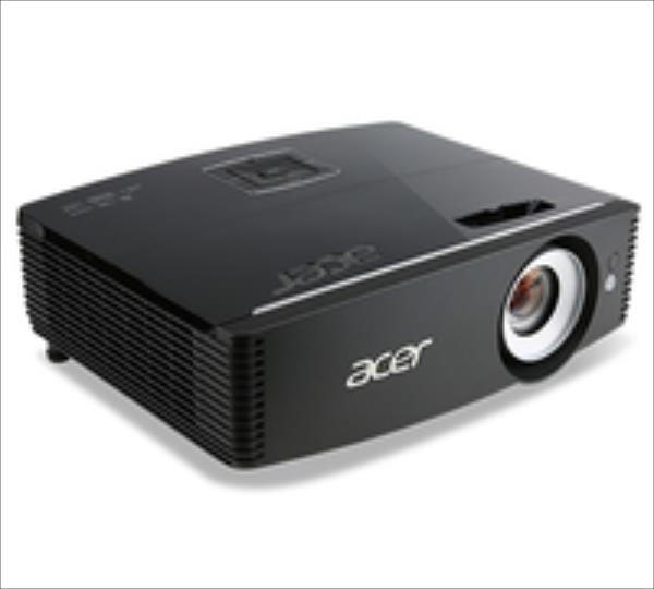 Acer P6200 1024x768 DPI, 5000 cd/m2, 1:1.6, Black projektors