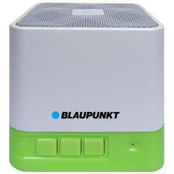 blaupunkt Portable bluetooth speaker BT02GR, FM PLL SD/USB/AUX, green pārnēsājamais skaļrunis