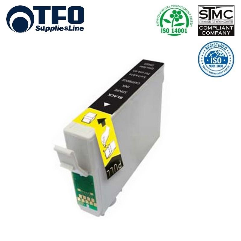 TFO Epson T1811 Melns Tintes kārtridžs 18ml (C13T18114010) XP-101 XP-205 XP305 HQ Premium Analogs