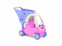 Little Tikes Cozy wozek na zakupy/rozowy Radiovadāmā rotaļlieta