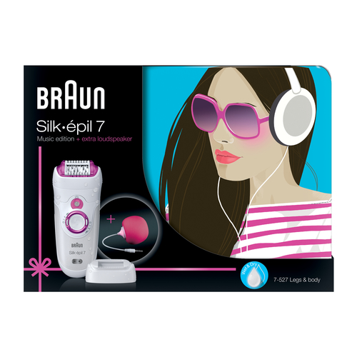 Braun Silk-epil 7 7-527 Music Edition Epilators