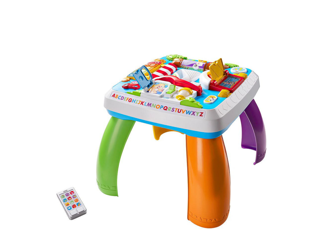 Fisher Price Laugh and learn, Around the Town, learning table bērnu rotaļlieta