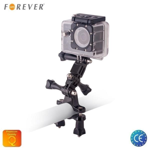 Forever Multifunkcion ls Velo stiprinājumu komplekts ar 22mm Skrūvēm priekš Go Pro / Acme / Lamax / SJCam un cit m sporta kamer m