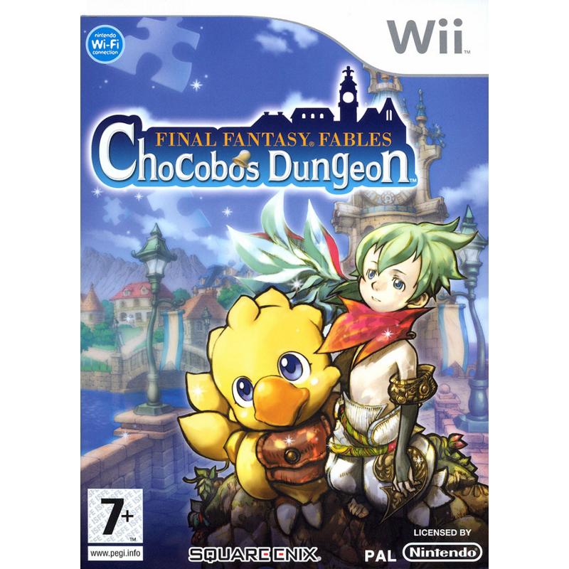 NINTENDO Wii Final Fantasy Chocobo Tales spēle