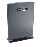 DECT IP-Basis AGFEO schnurlose VoIP Telefone black telefons