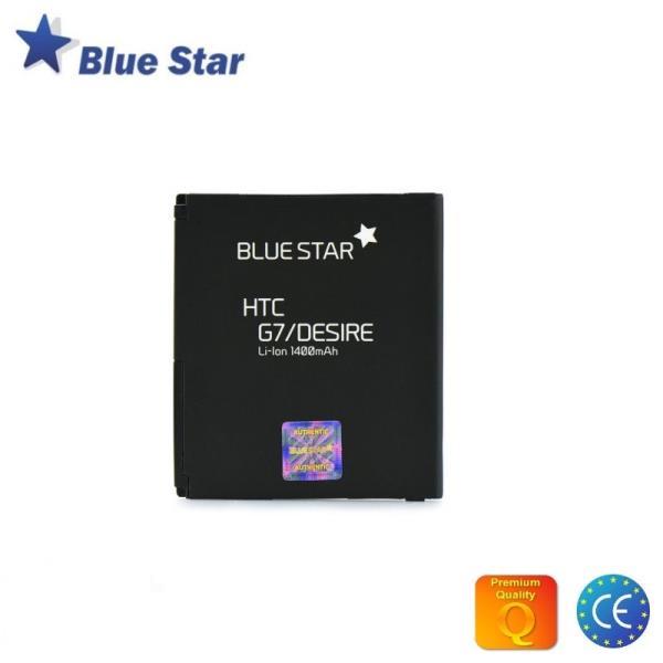 BlueStar Akumulators HTC G7 Desire Nexus One Li-Ion 1400 mAh Analogs BB99100 (BA S410) aksesuārs mobilajiem telefoniem