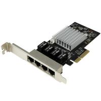 StarTech 4-Port Gigabit NIC - PCIe (ST4000SPEXI) tīkla karte
