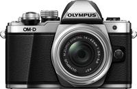 Olympus E-M10 Mark II Korpus Srebrny + EZ-M1442EZ Srebrny Digitālā kamera