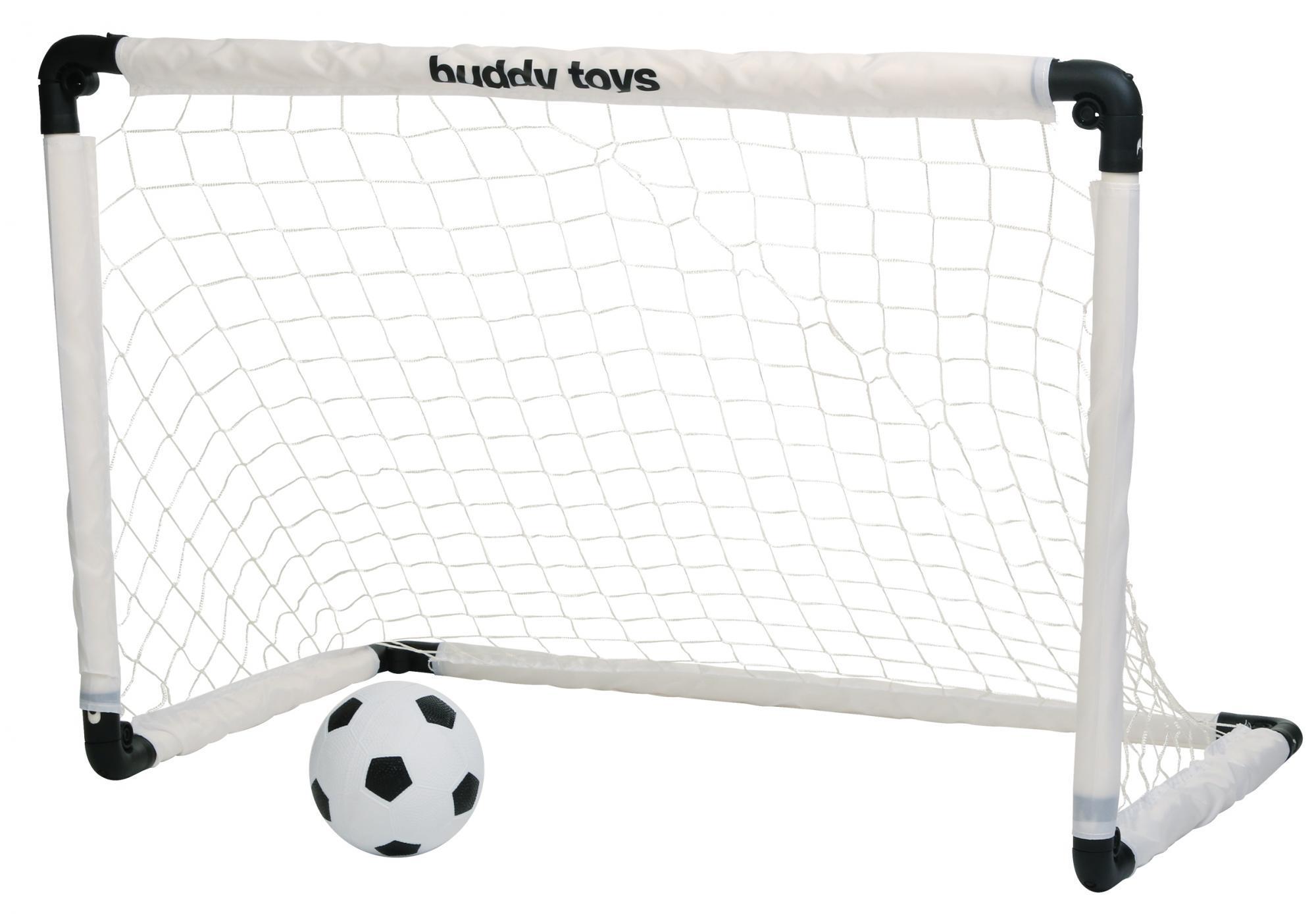 Buddy Toys Saliekami futbola vārti BOT 3110 bumba
