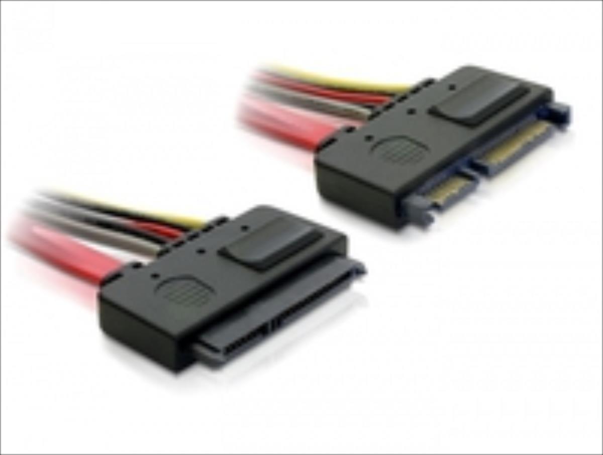 Delock SATA Cable 0.2m   84362 kabelis datoram