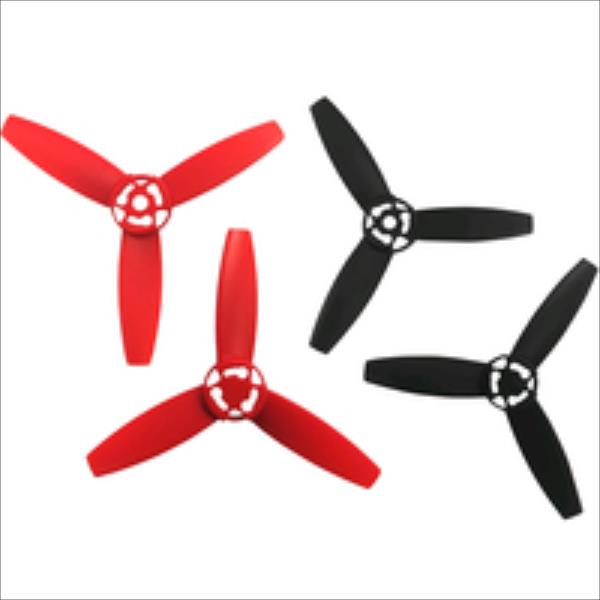 BEBOP DRONE - Propellers Red / Black Droni un rezerves daļas