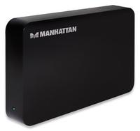 Manhattan Drive Enclosure USB 3.0 SATA 3.5'' Black cietā diska korpuss