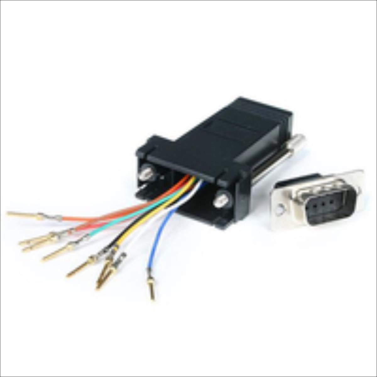 StarTech.com DB9 TO RJ45 MODULAR ADAPTER  GC98MF GC98MF adapteris