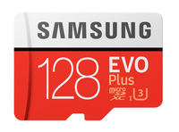 Samsung EVO Plus microSDXC 128GB Class 10 UHS-I atmiņas karte