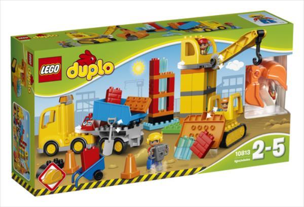 LEGO Big Construction Site V29  10813 LEGO konstruktors