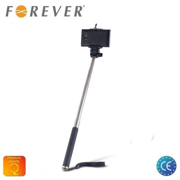 Forever MP-300 Bluetooth Selfie Stick 95cm - Univers la stiprinājuma statīvs bez Pults