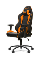 AKRACING Nitro Gaming Chair - black/orange datorkrēsls, spēļukrēsls