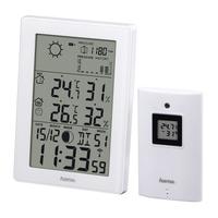 Hama EWS-3200 White barometrs, termometrs
