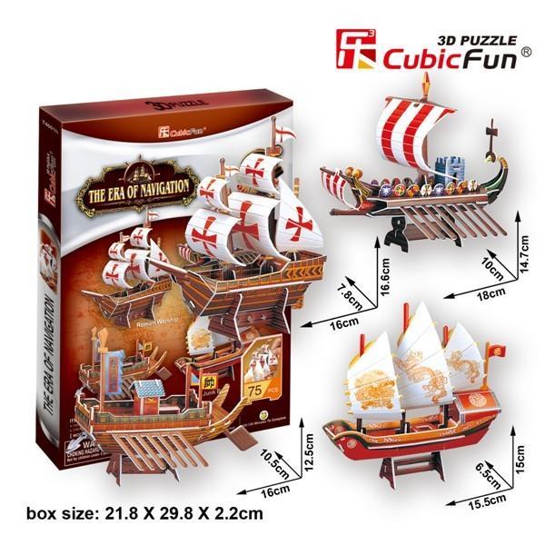 Cubicfun PUZZLE 3D Voyage Century - 01596 puzle, puzzle