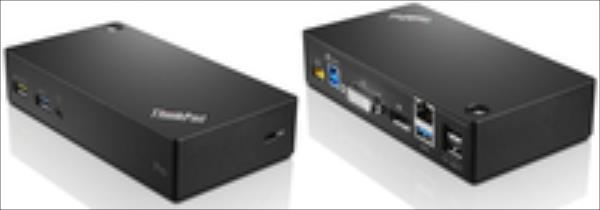 ThinkPad USB3.0 Ultra dock - EU aksesuārs portatīvajiem datoriem