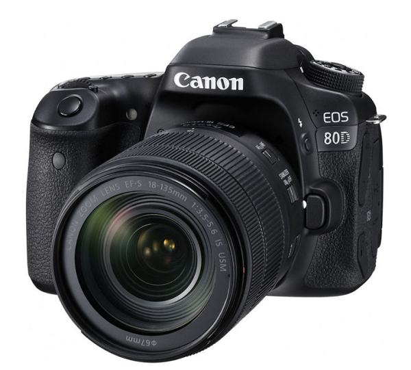 Canon EOS 80D Kit + EF-S 18-135 IS USM Spoguļkamera SLR