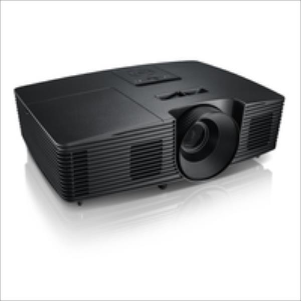 DELL 1220 Projector/SVGA(800x600)/4:3/2700Lm/2200:1apm/Lamp190W/2.4kg/Audio-inout/VGA/HDMI/Speaker 1x2W Dell projektors