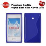 Telone Back Case S-Case gumijots telefona apvalks LG Swift aksesuārs mobilajiem telefoniem