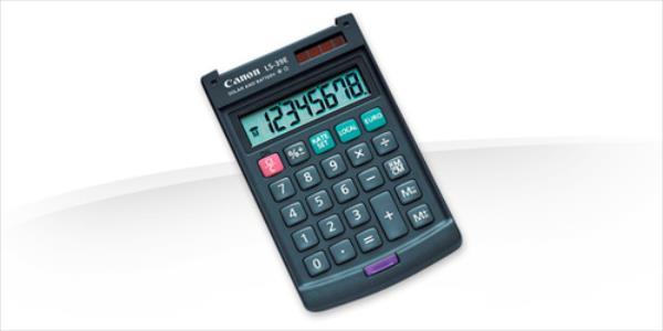 Canon LS-39E kalkulators