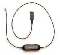 Jabra 8800-00-75 Cord 2.5mm plug to mod plug 1m. - for Panasonic 8763-289 kabelis, vads