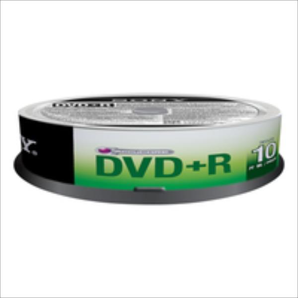 Sony DVD+R 4,7 GB | 16x [cake 10 pcs] matricas