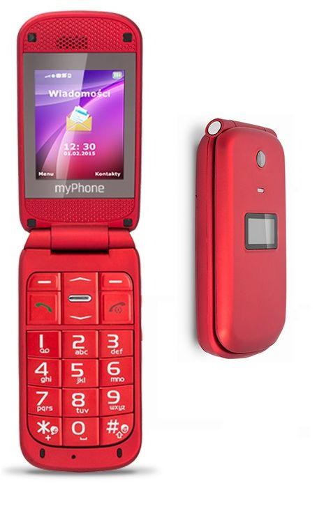 MyPhone METRO red Mobilais Telefons