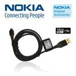 Nokia CA-101 Micro USB oriģināls Datu un Uzlādes Kabelis 1.2m aksesuārs mobilajiem telefoniem