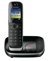 Panasonic KX-TGJ320GB Schnurlostelefon with AB black telefons