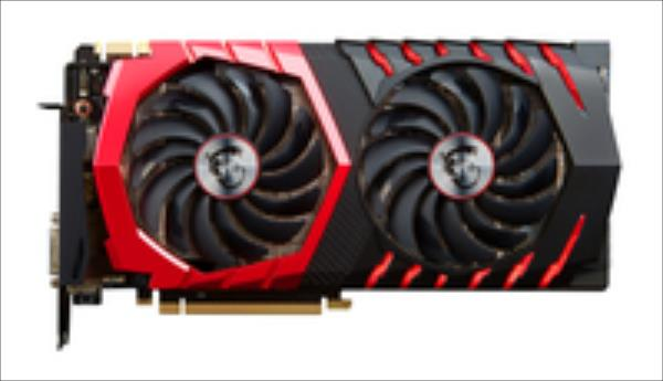 MSI GeForce GTX1080 Gaming X 8GB video karte