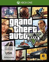 Microsoft XBOX One Grand Theft Auto V (GTA5) (Xbox ONE)