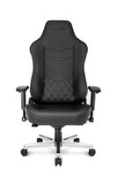 AKRACING ONYX Full Leather Gam. Chair black datorkrēsls, spēļukrēsls