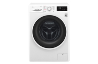 LG Steam washing mashine  F4J6TY0W Front loading, Washing capacity 8 kg, 1400 RPM, Direct drive, A+++, Depth 55 cm, Width 60 cm, White, Stea Veļas mašīna