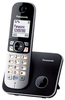 Panasonic KX-TG6811GB Schnurlostelefon black telefons